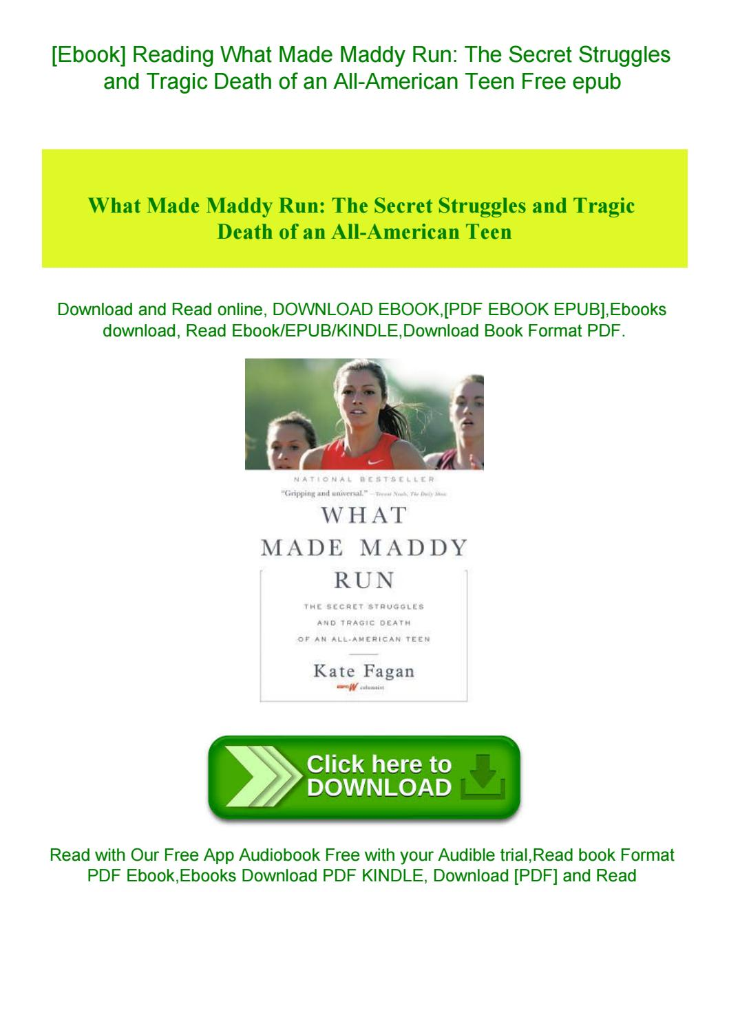 What Made Maddy Run Pdf Free