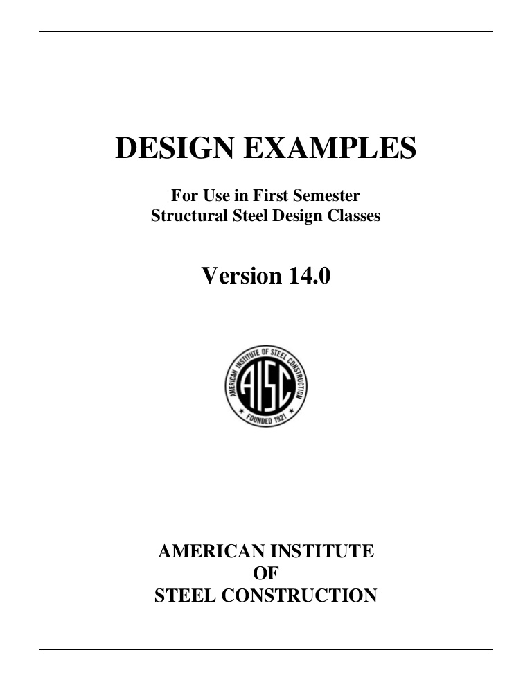 15th Edition Aisc Steel Tables Pdf