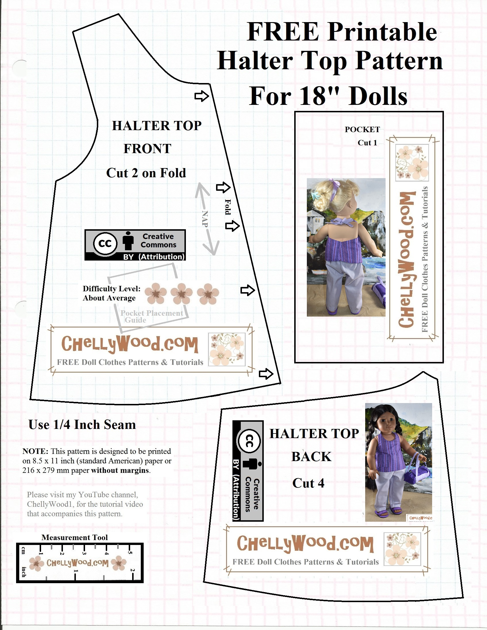 18 Doll Clothes Patterns Pdf Free