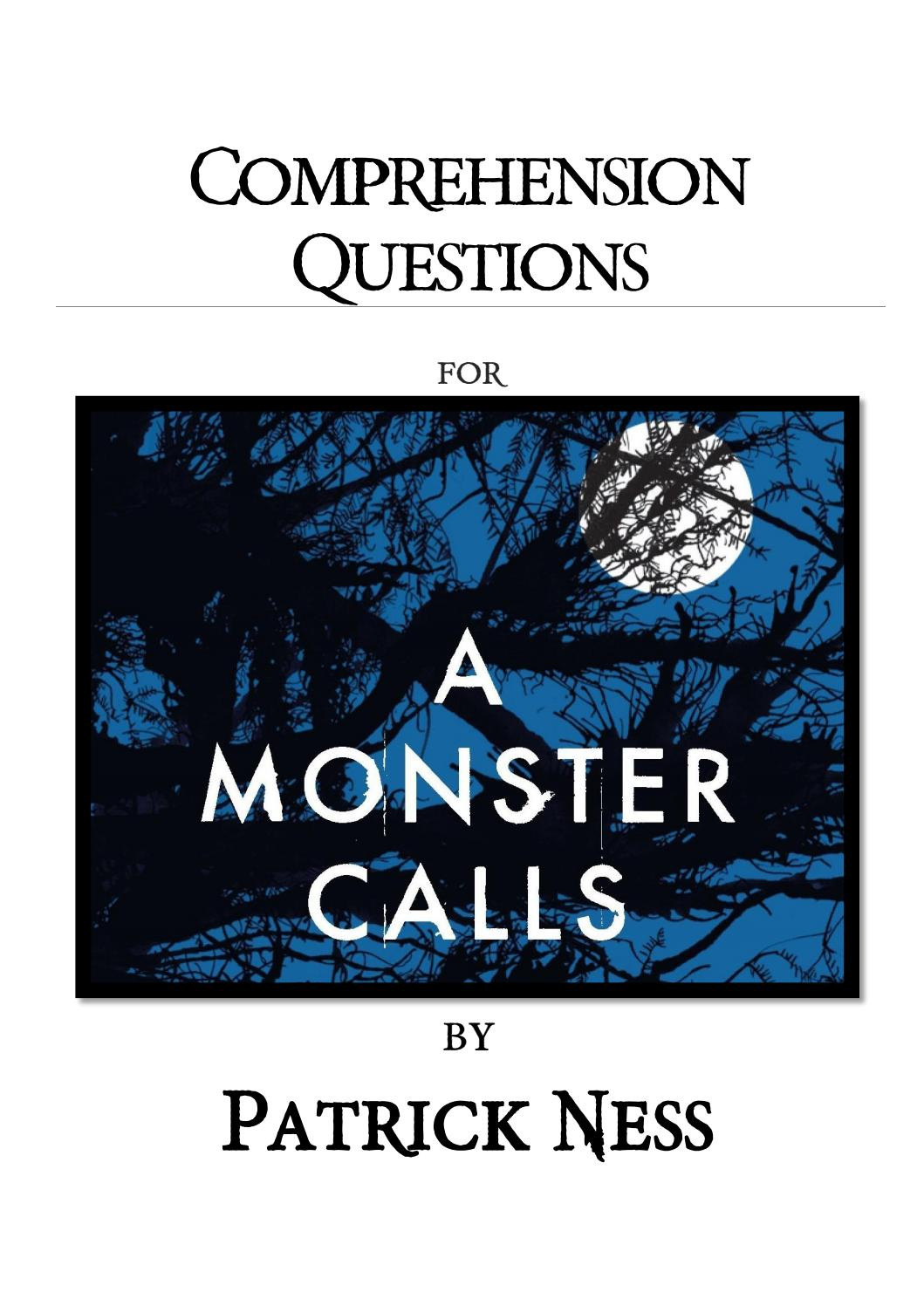 A Monster Calls Pdf Full Book