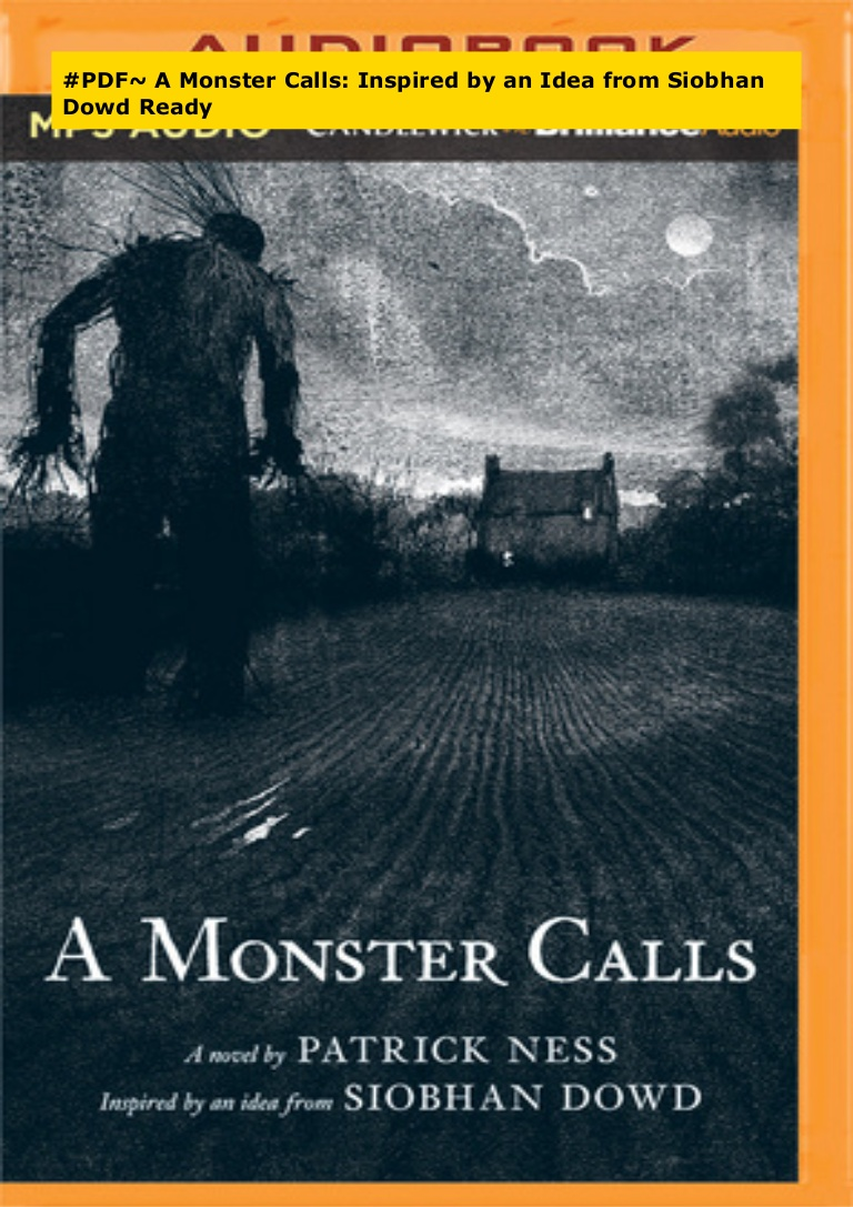 A Monster Calls Pdf With Pictures