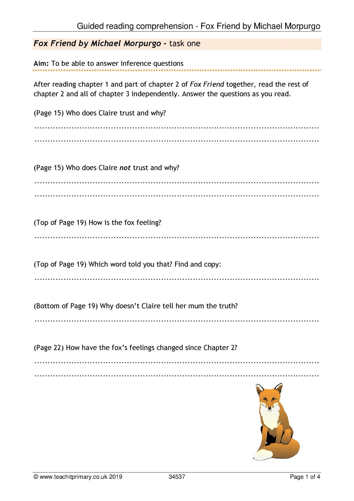 A Monster Calls Worksheets Pdf