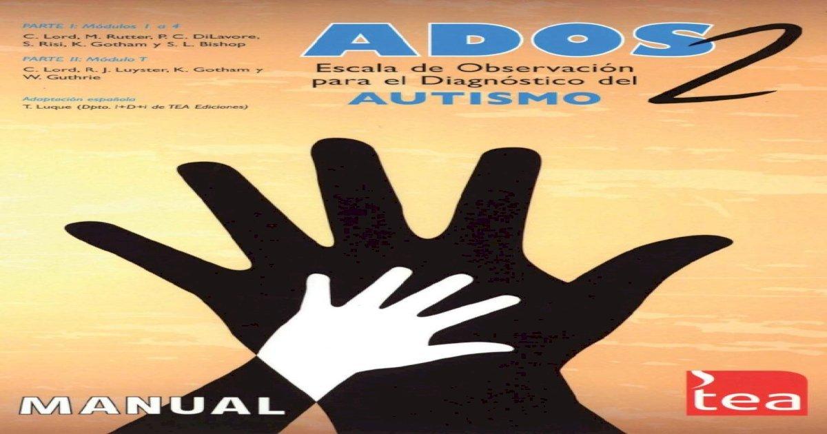 Ados 2 Manual Pdf