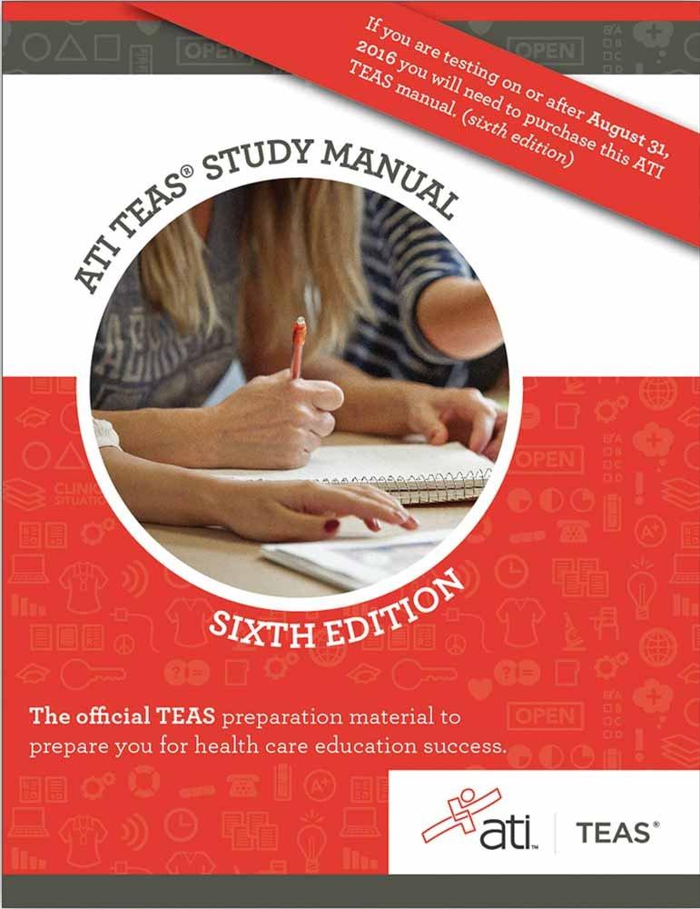 Ati Teas Study Manual Sixth Edition Pdf Free Download