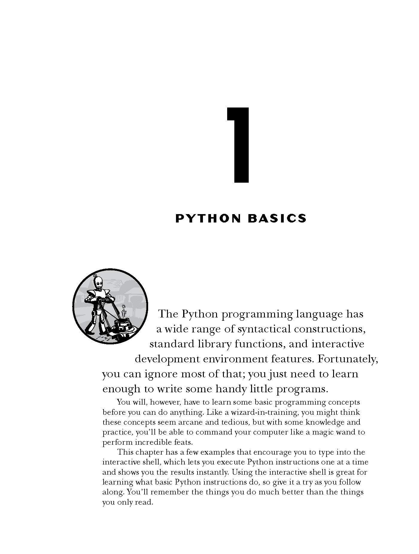 Automate Boring Stuff With Python Pdf Free