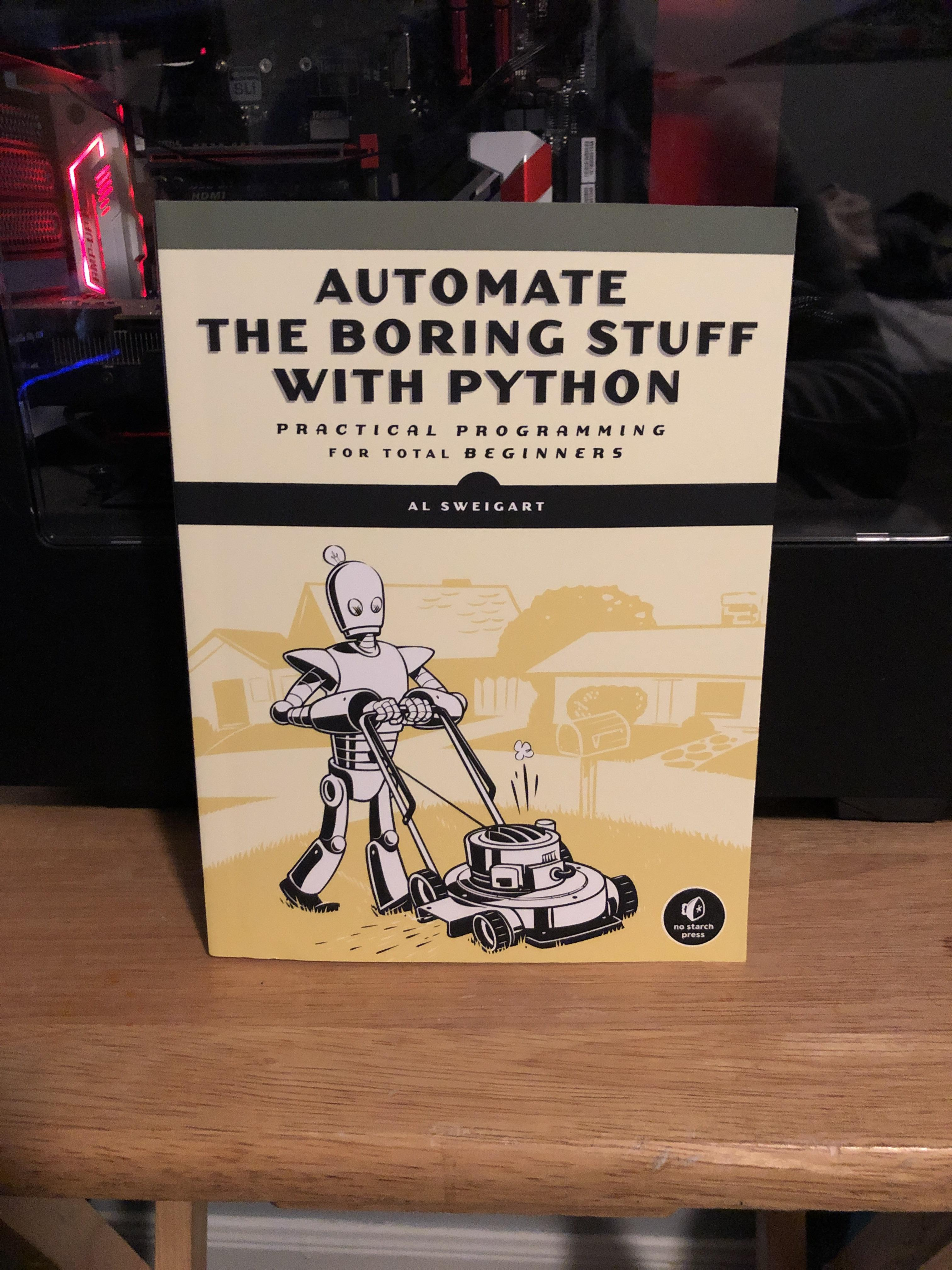 Automate The Boring Stuff With Python Pdf