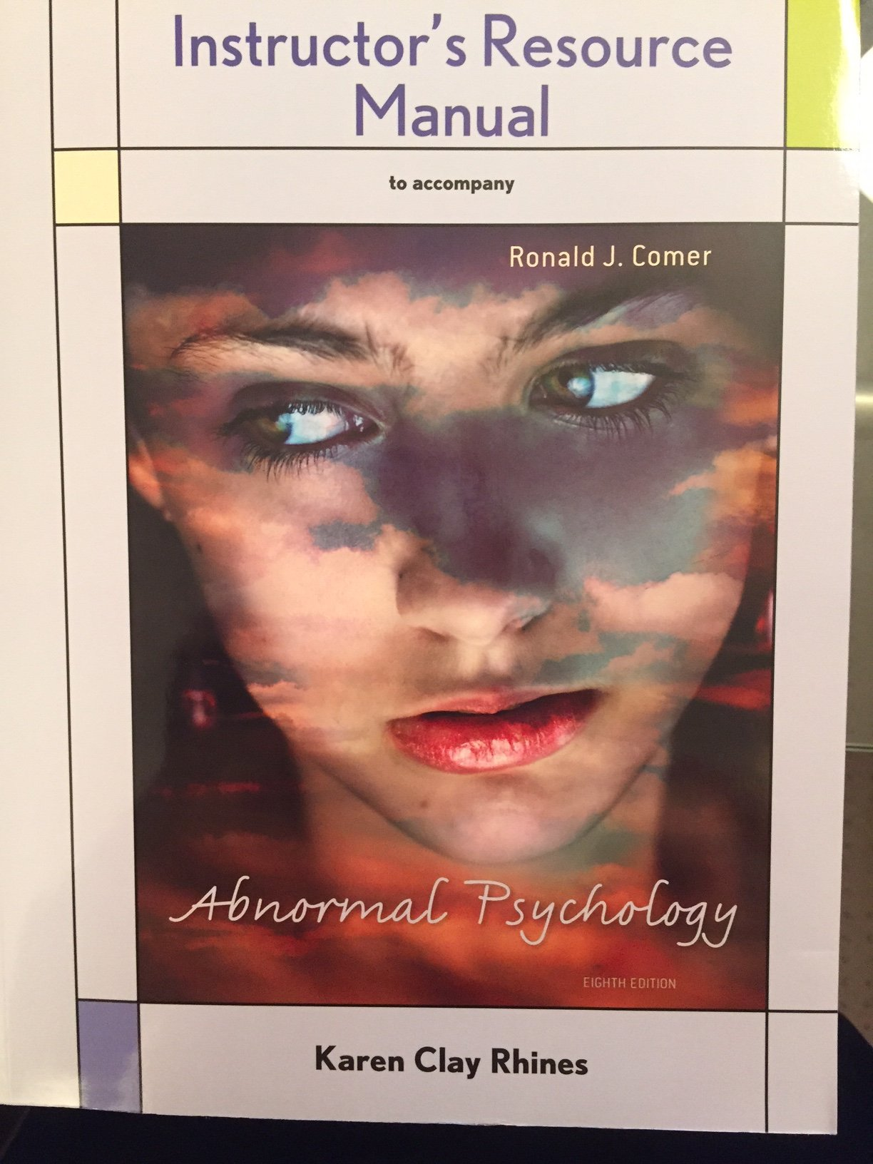 Comer Abnormal Psychology 10th Edition Pdf