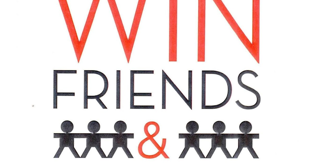 How To Win Friends And Influence People Pdf Free