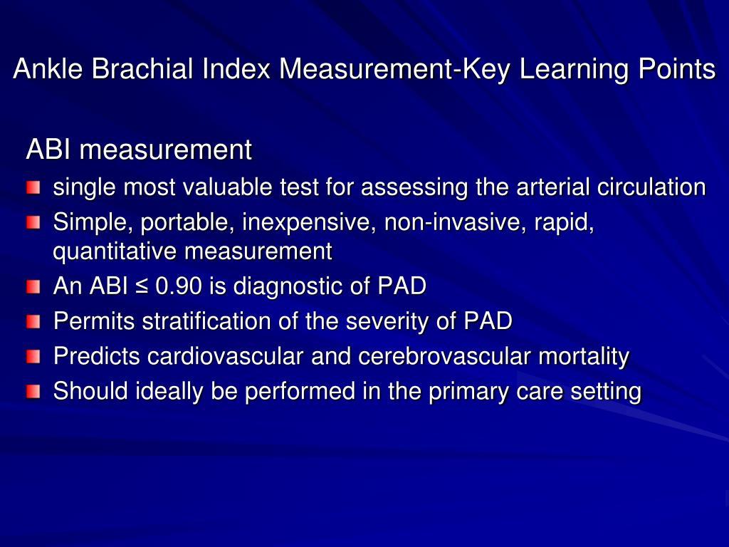 Pdf Ankle Brachial Index Worksheet