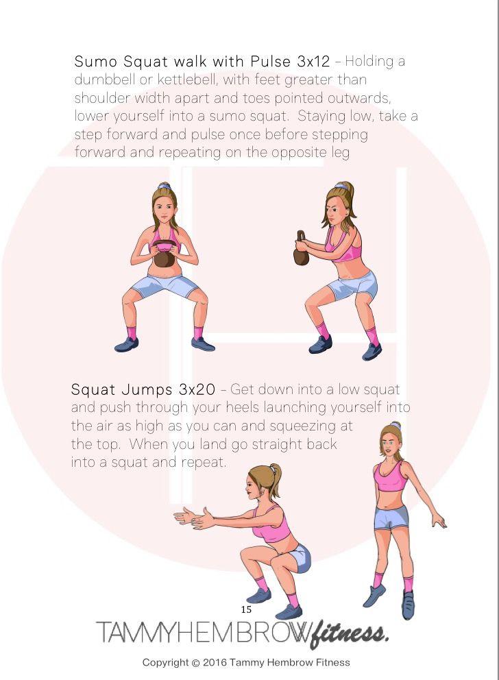 Tammy Hembrow Workout Pdf