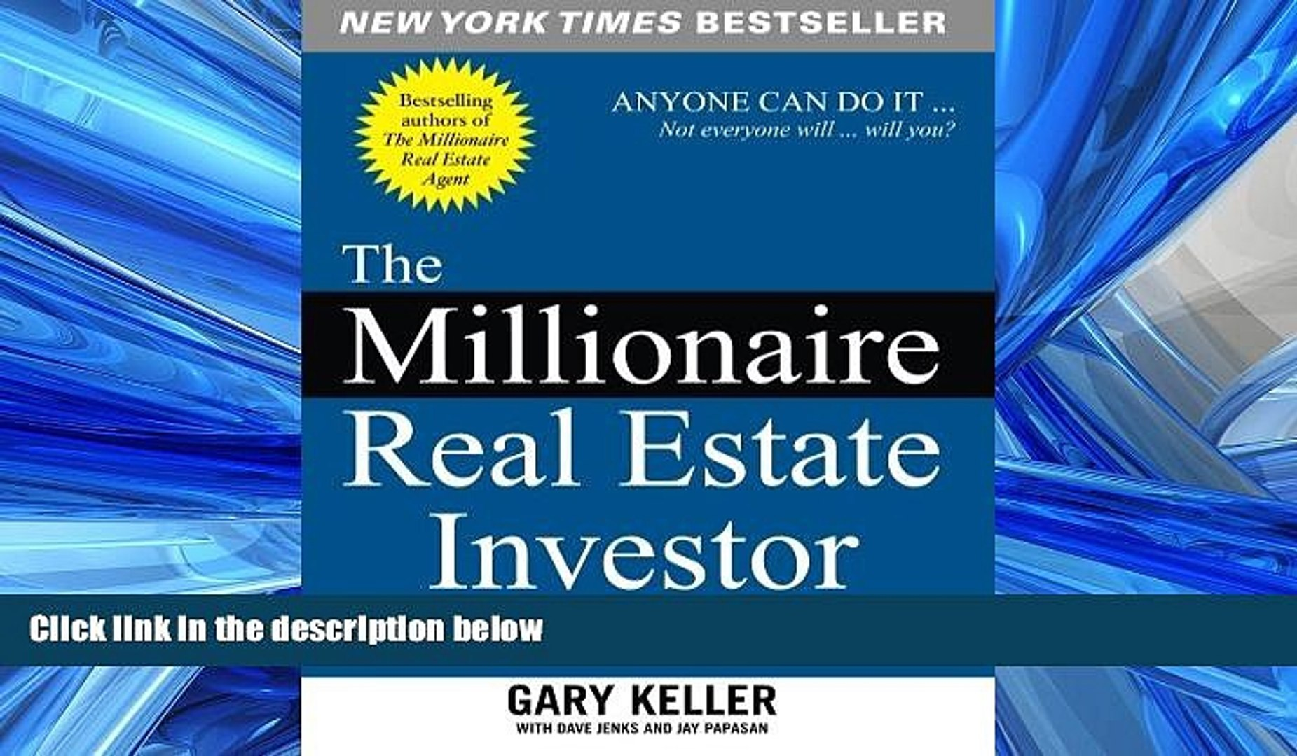 The Millionaire Real Estate Investor Pdf Download