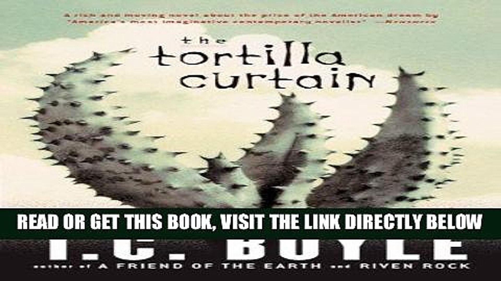 The Tortilla Curtain Pdf