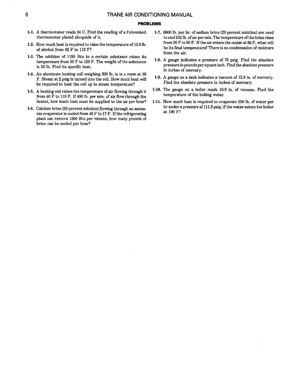Trane Air Conditioning Manual Pdf Free Download