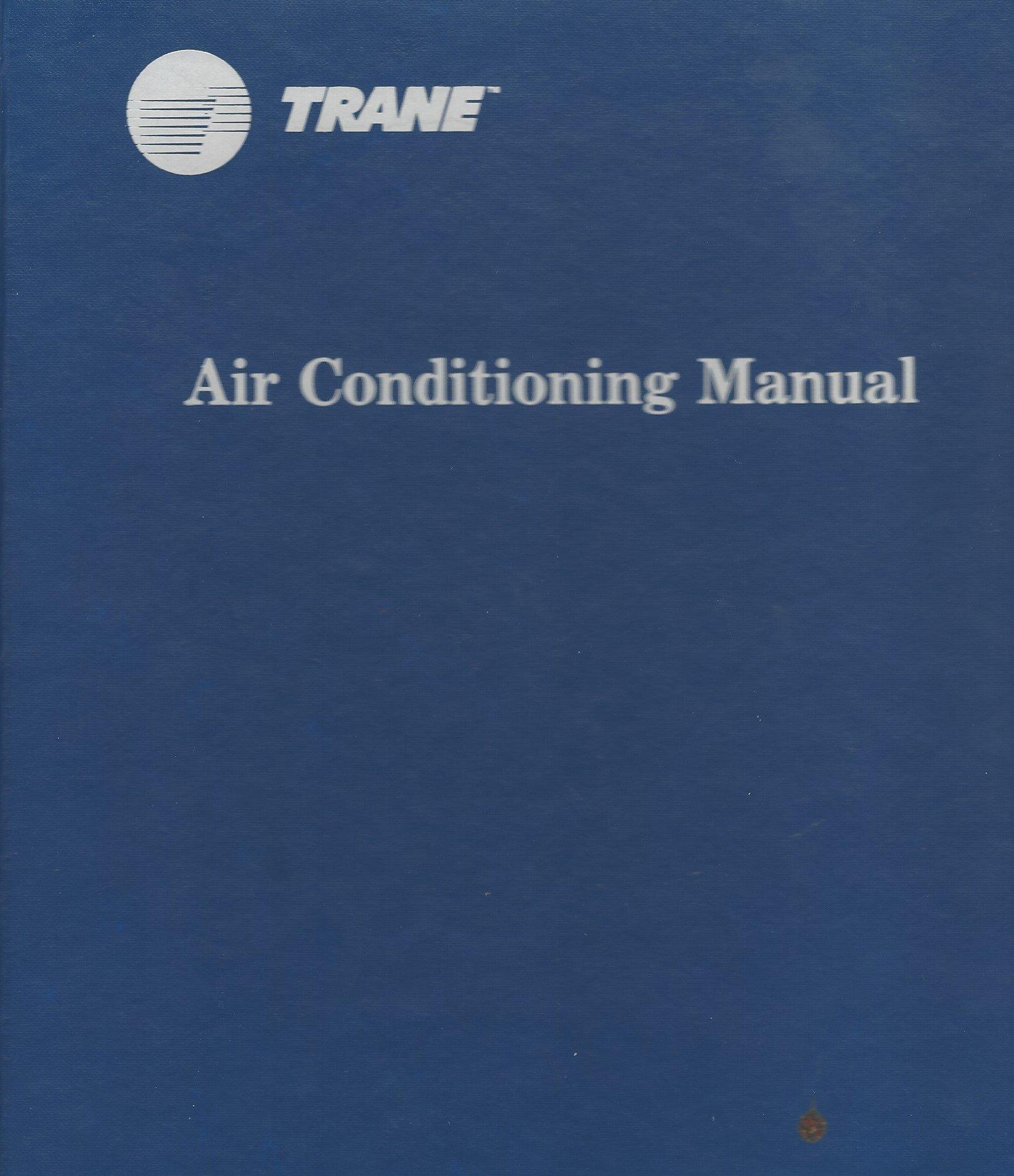 Trane Air Conditioning Manual Pdf