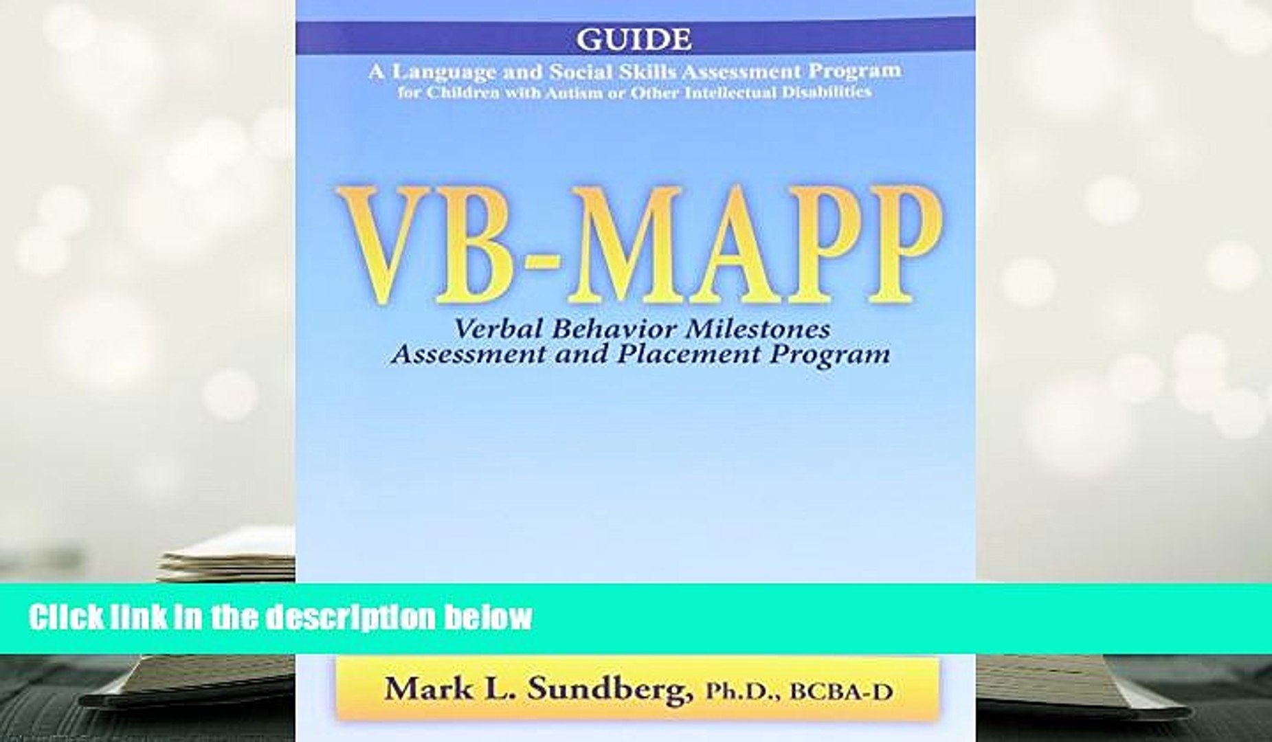 Vb Mapp Milestones Pdf