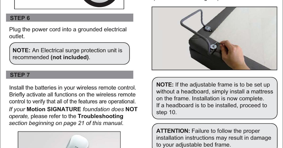 Zinus Platform Bed Instructions Pdf