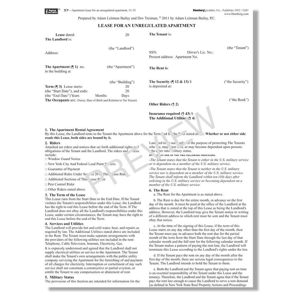 Blumberg Lease Agreement Pdf