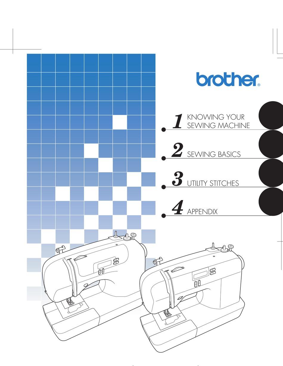 Brother Sewing Machine Manual Pdf