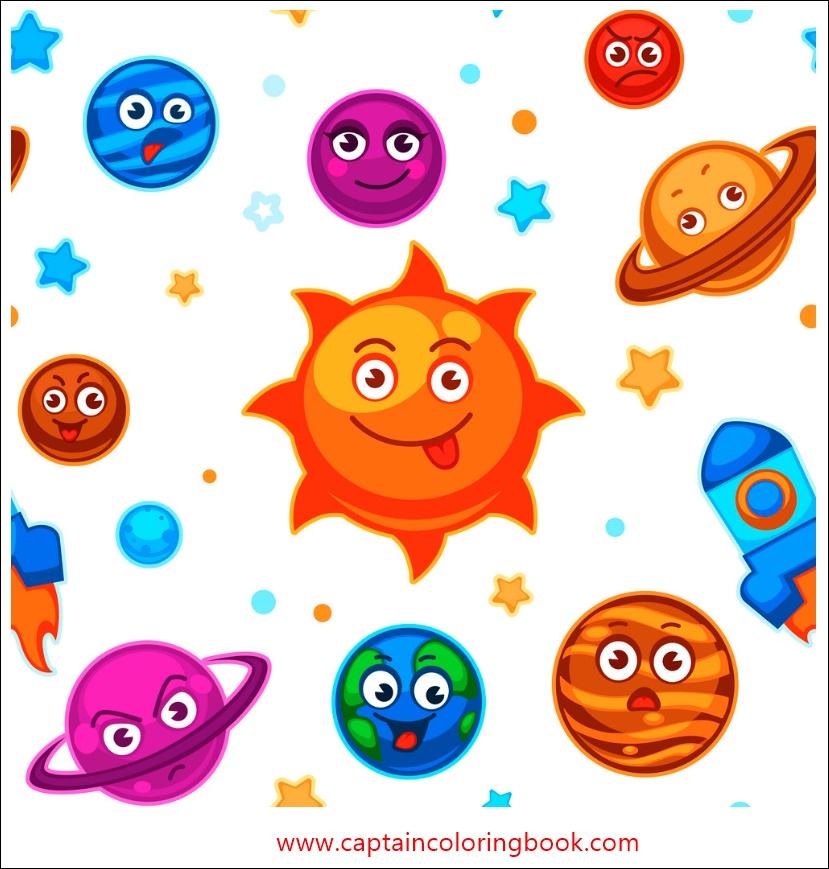 Cartoon Coloring Kids Coloring Book Pdf
