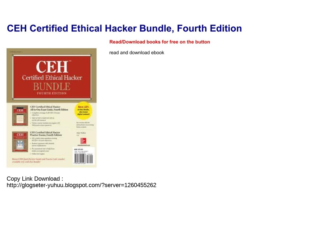 Certified Ethical Hacker Pdf Download