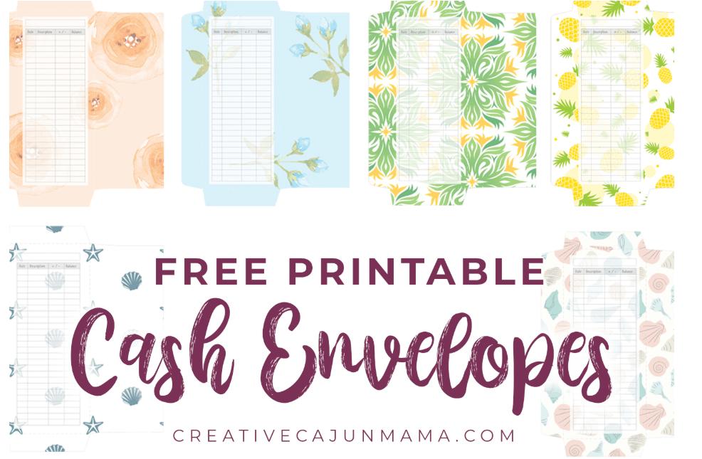 Downloadable Free Cash Envelope Template Pdf