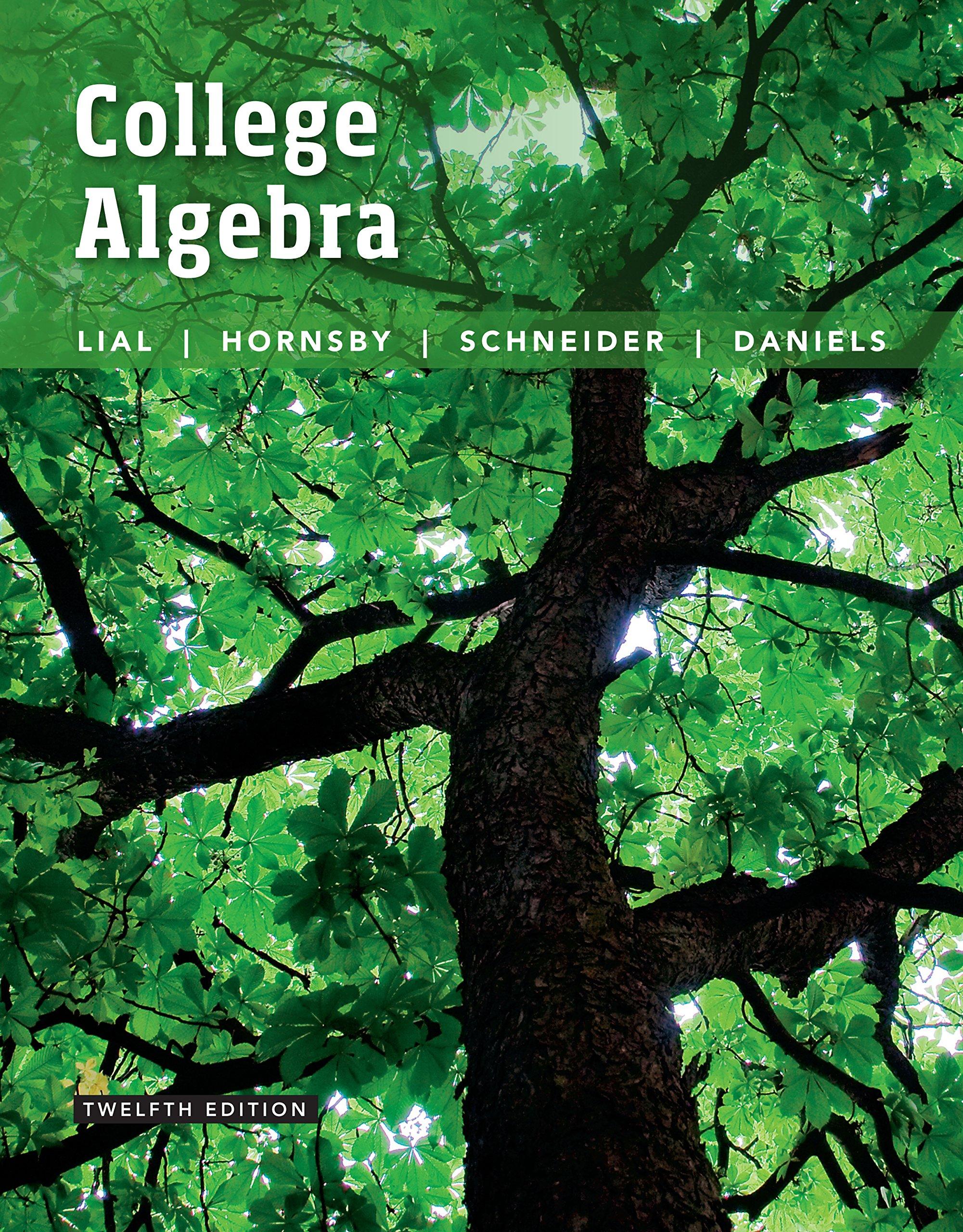 College Algebra 12th Edition Pdf Free Download