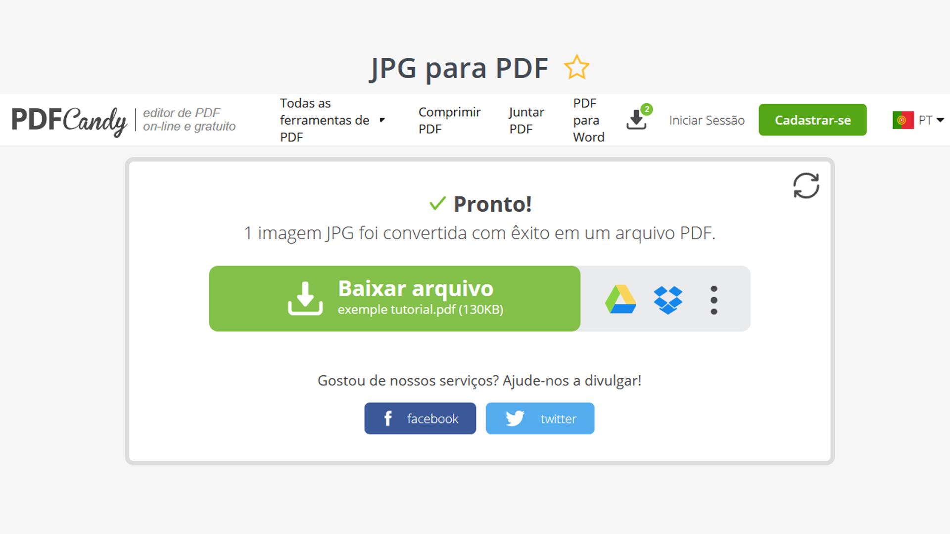 Como Converter Pdf Em Jpg