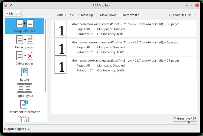 Concatenate Pdf Files Command Line Linux