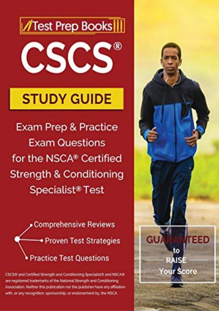 Cscs Study Guide Pdf