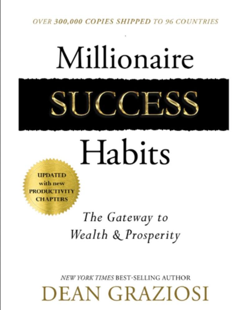 Dean Graziosi Millionaire Success Habits Pdf Download