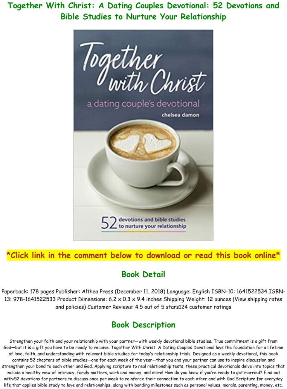 Devotions For Dating Couples Pdf Free