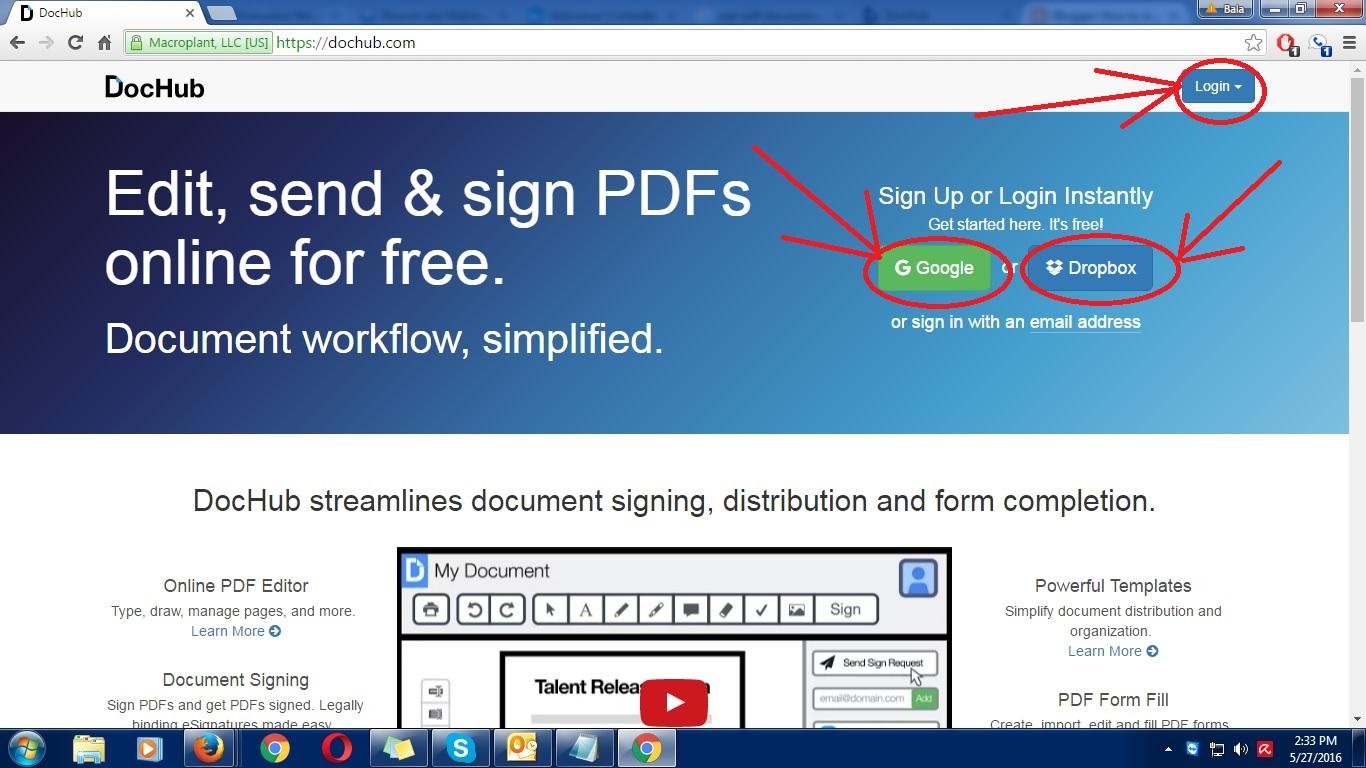 Dochub Pdf Sign & Edit