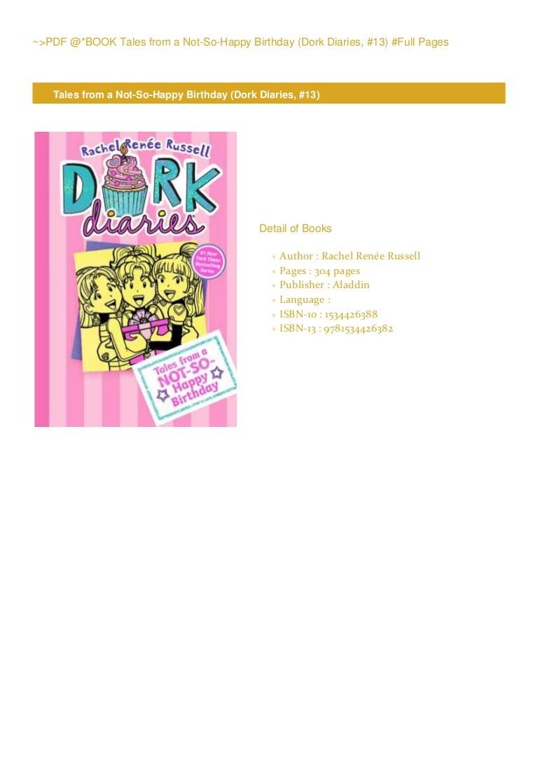 Dork Diaries 13 Pdf
