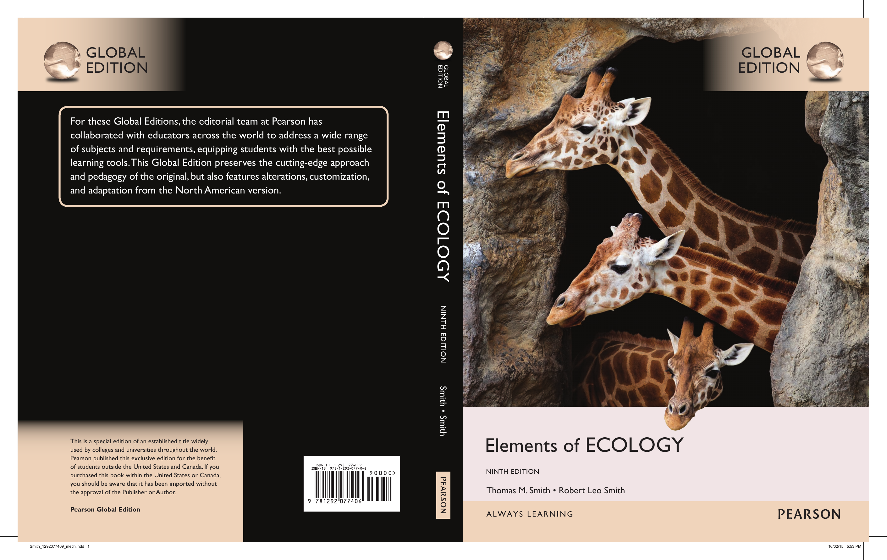 Elements Of Ecology 9th Edition Pdf Download
