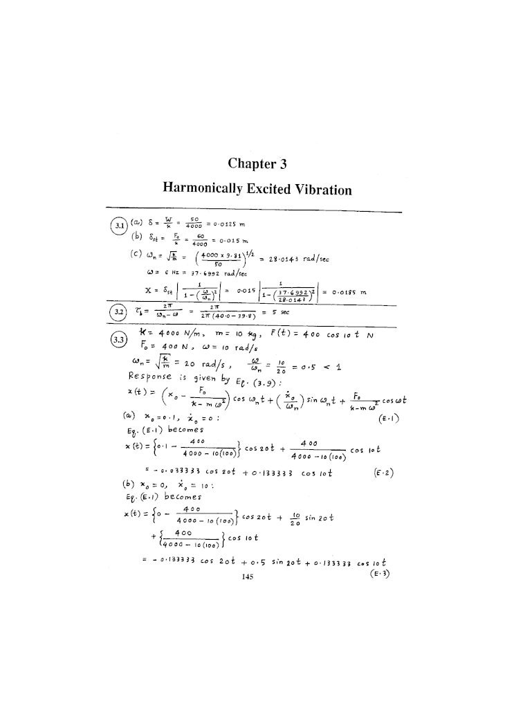 Engineering Vibration 4th Edition Solution Manual Pdf