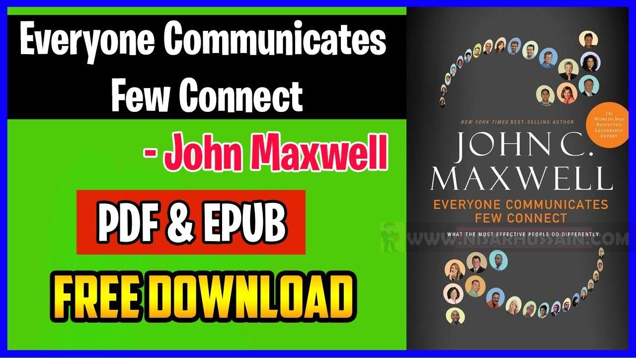 Everyone Communicates Few Connect Pdf Free Download