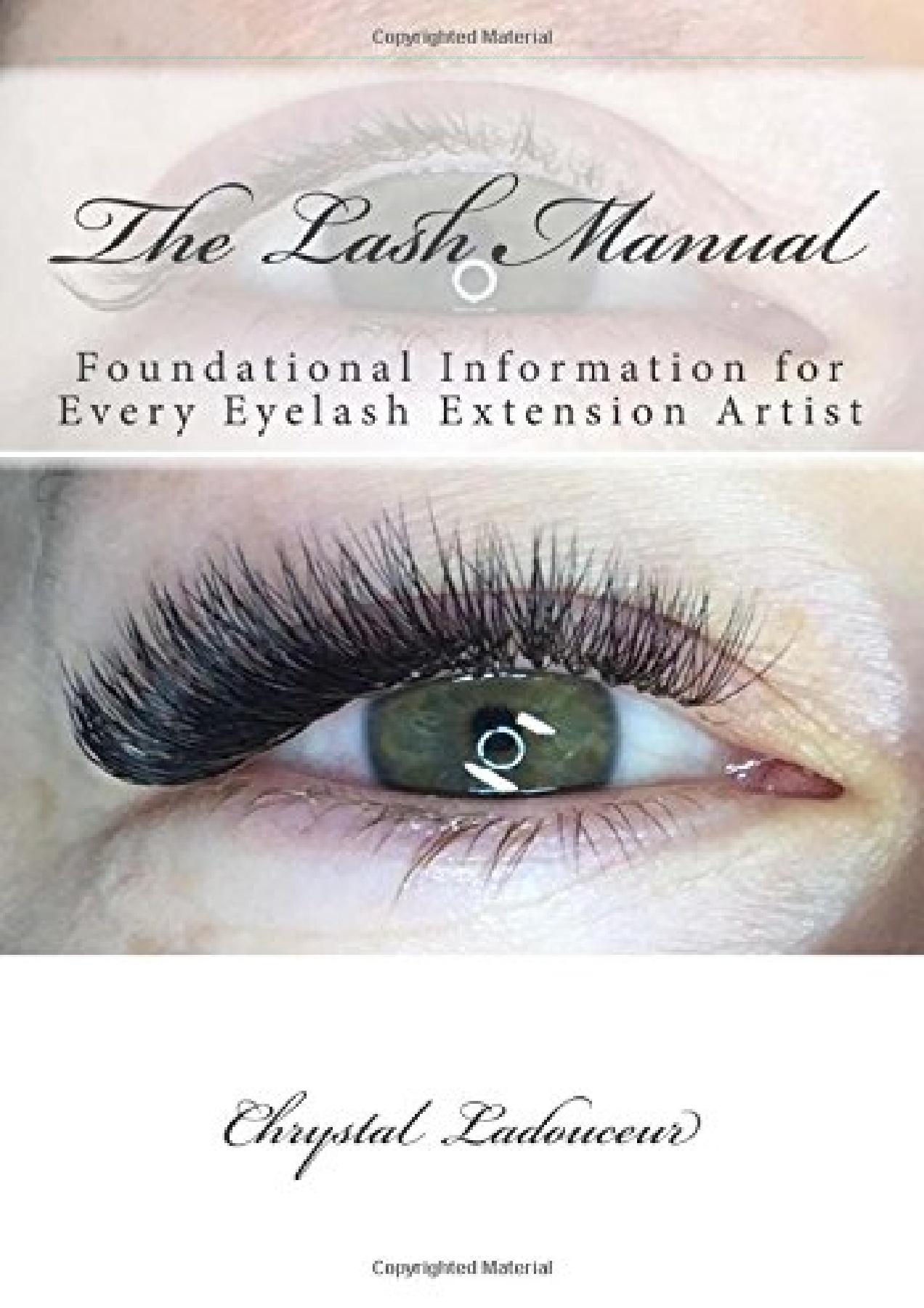 Eyelash Extension Manual Pdf