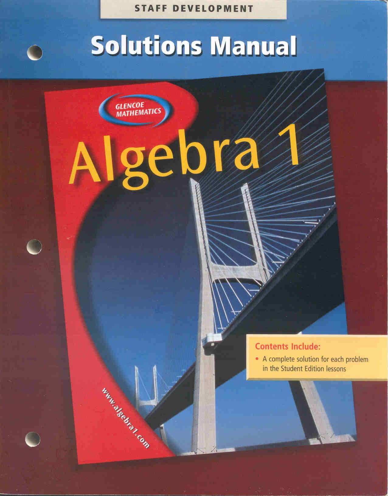 Glencoe Algebra 1 Pdf Download