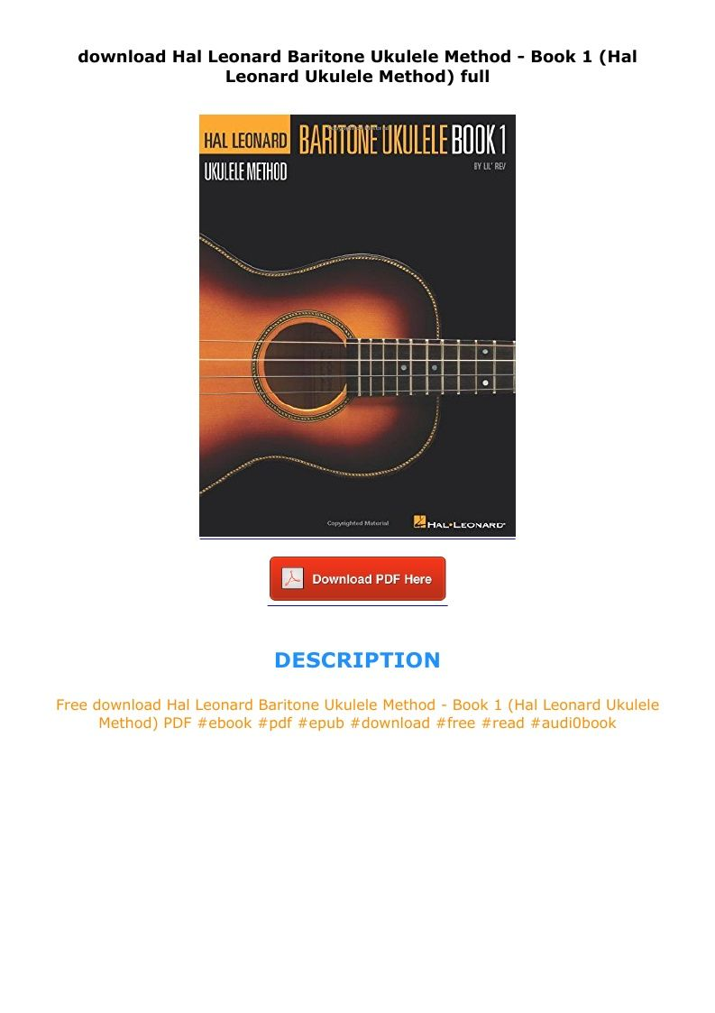 Hal Leonard Guitar Method Book 1 Pdf Free Download