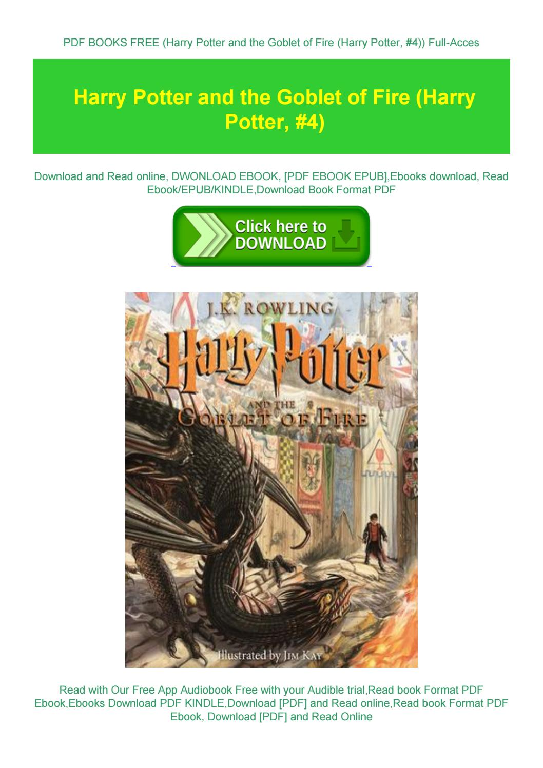 Harry Potter Books Free Pdf