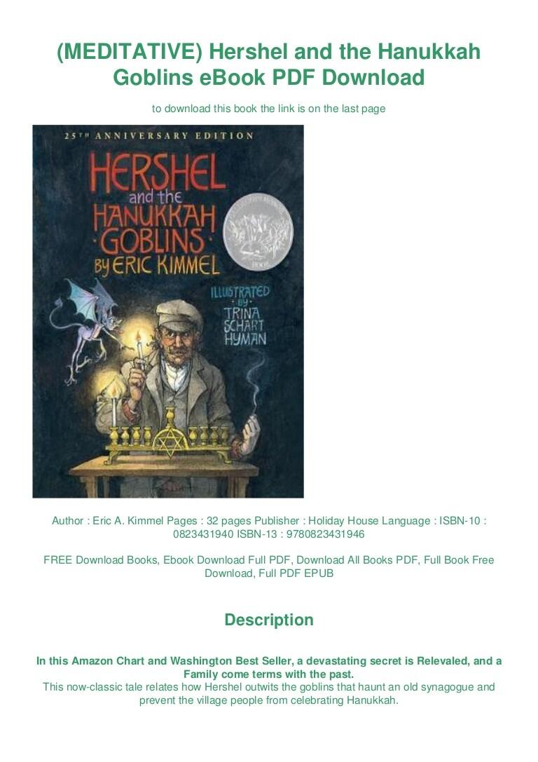 Hershel And The Hanukkah Goblins Pdf