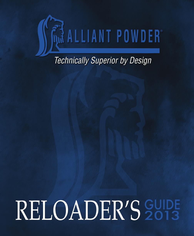 Hodgdon Reloading Manual 2018 Pdf