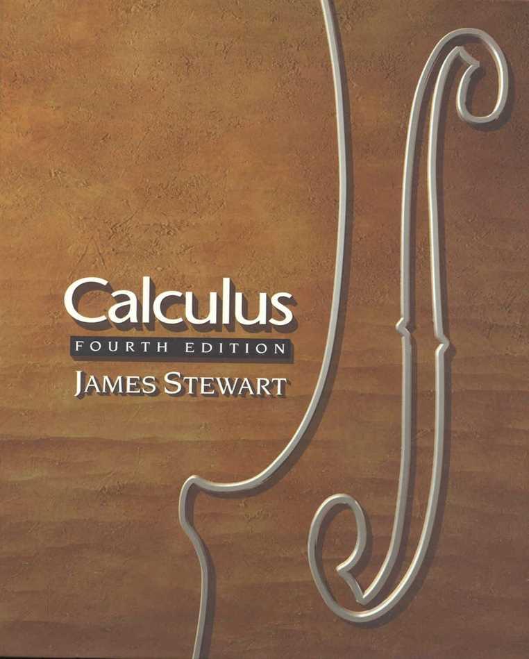 James Stewart Calculus 4th Edition Pdf