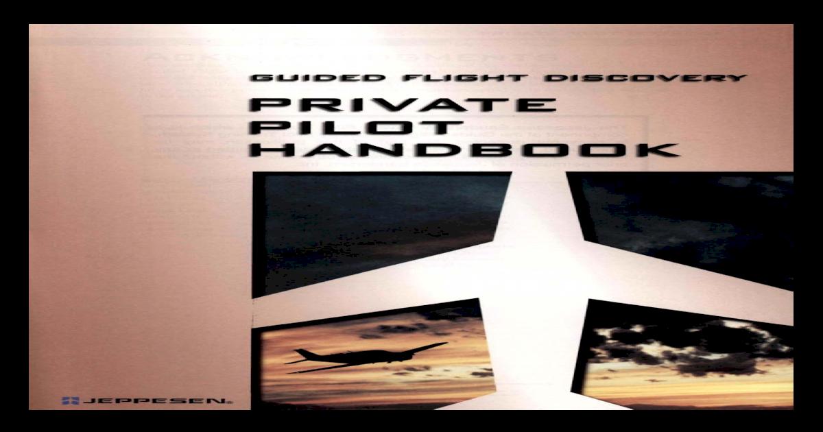 Jeppesen Private Pilot Manual Pdf Download