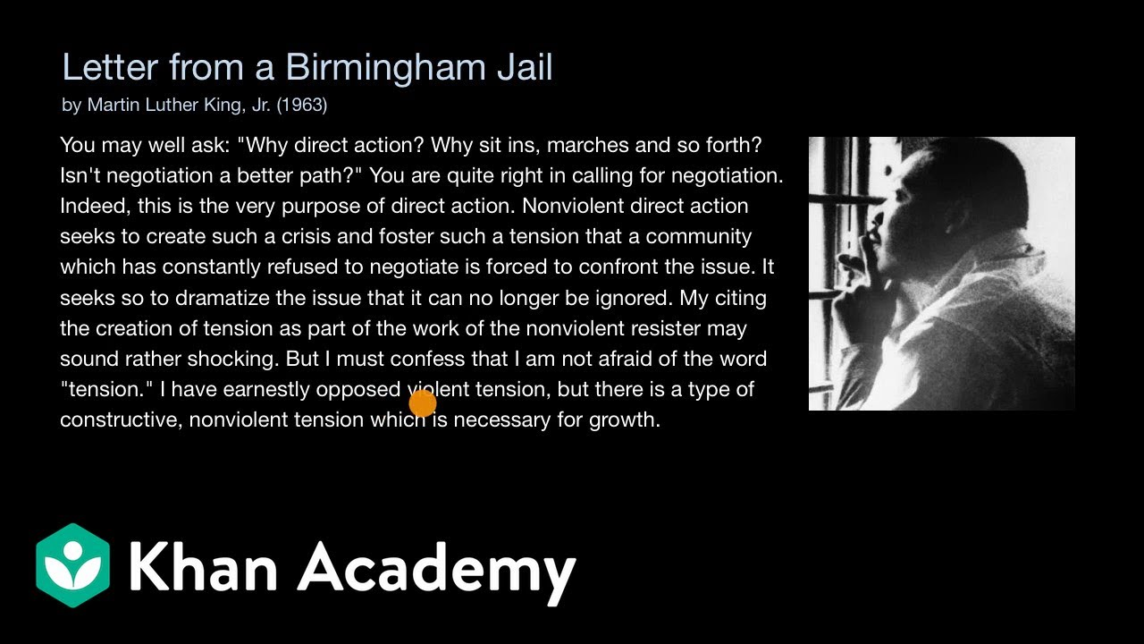 Kings Letter From Birmingham Jail Pdf