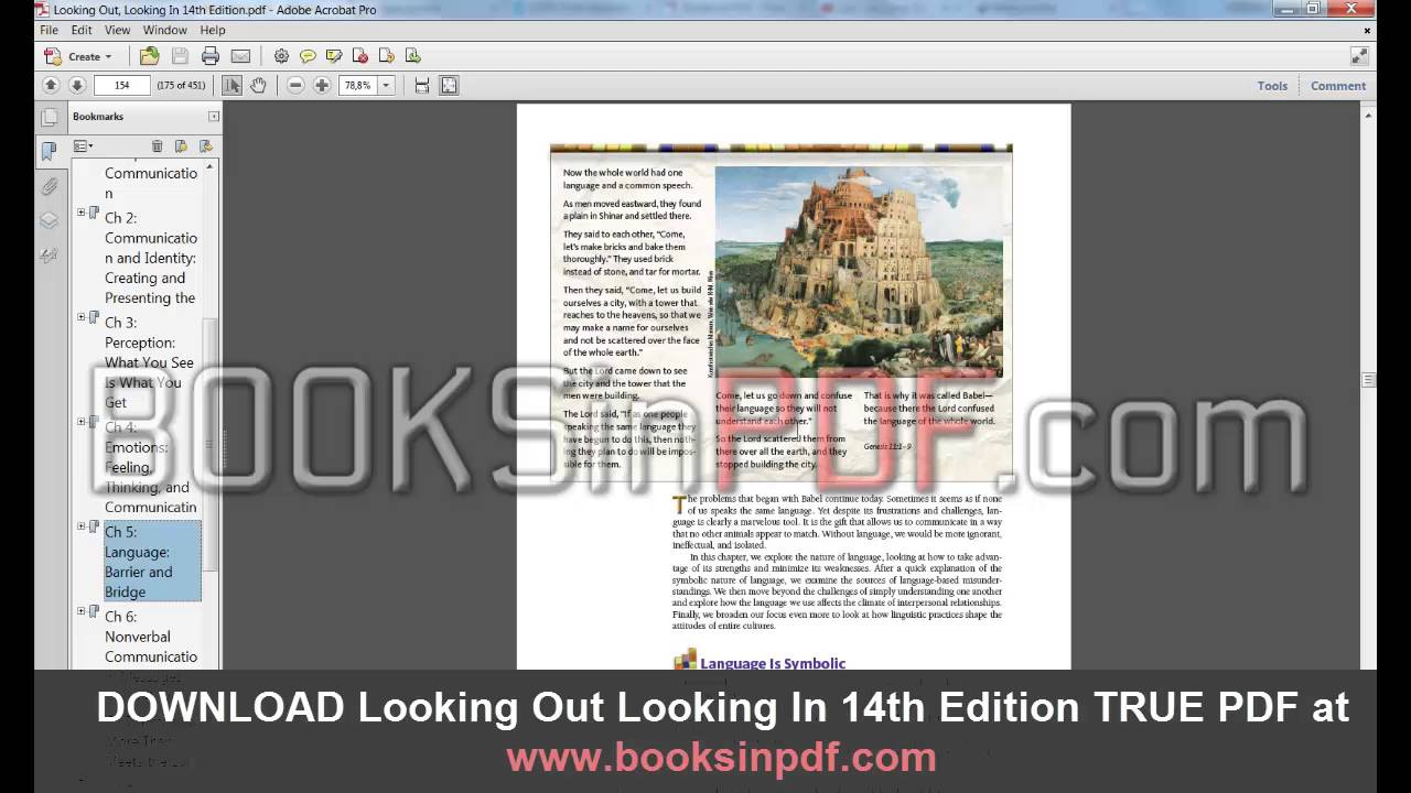 Looking Out Looking In 14th Edition Pdf