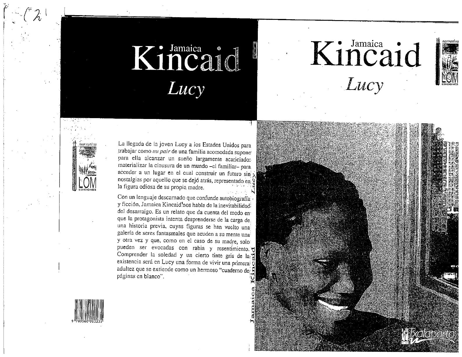 Lucy Jamaica Kincaid Pdf