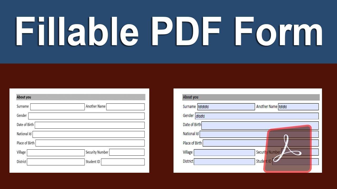 Make Pdf Writable Free