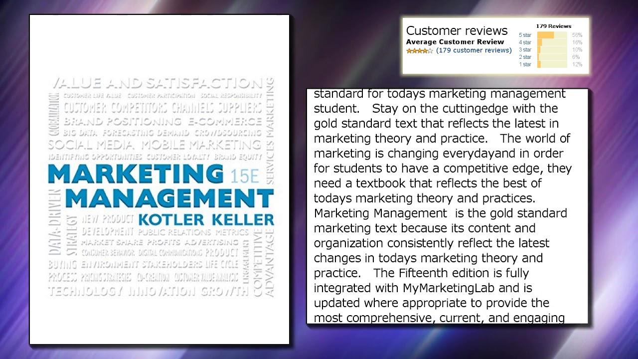 Marketing Management Philip Kotler 15th Edition Pdf