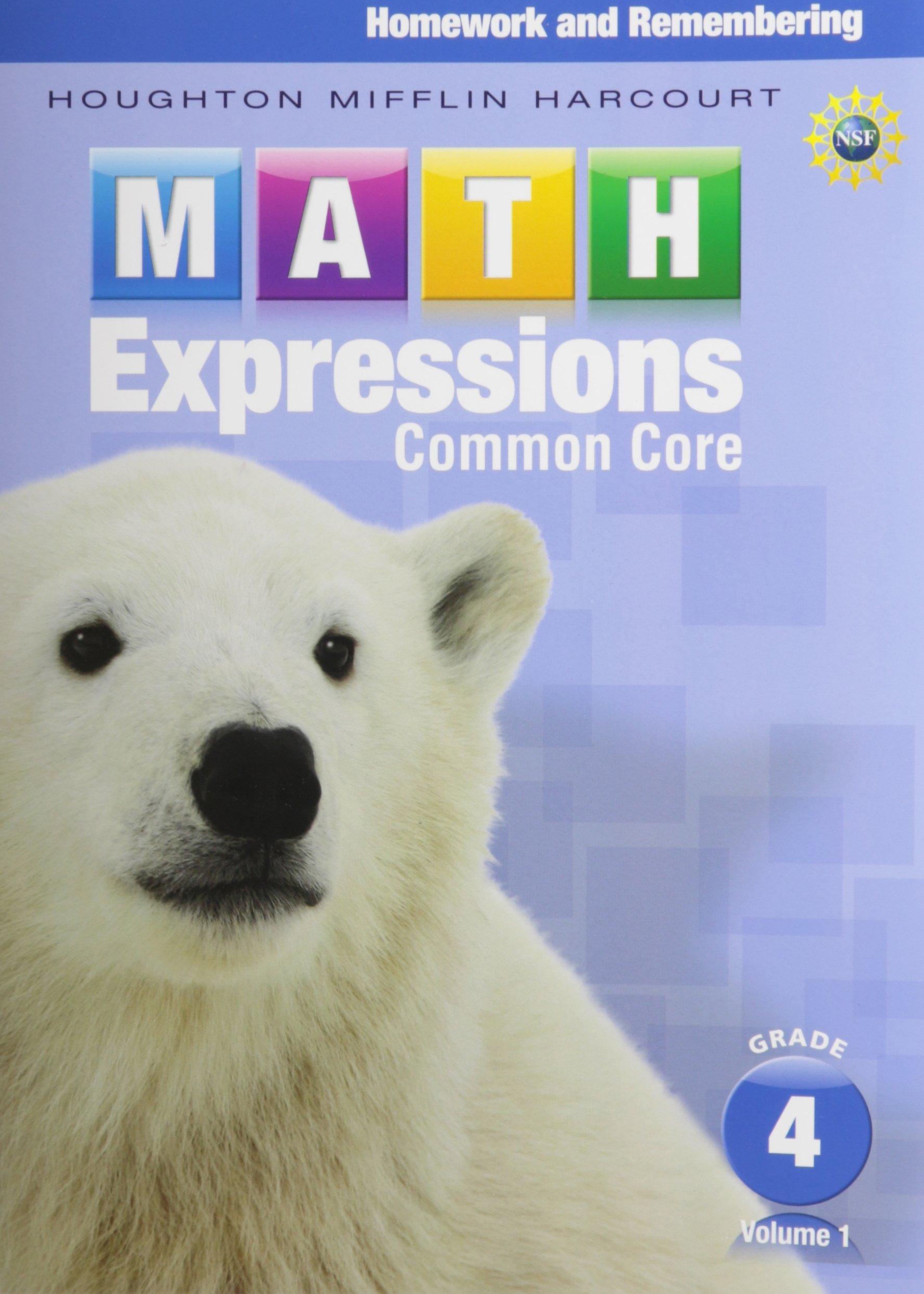 Math Expressions Grade 4 Volume 2 Pdf